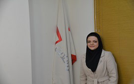 سرکار خانم الهام ابراهیمی- کارشناس واحد فناوری اطلاعات شرکت آهن آنلاین